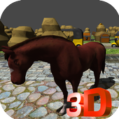 Horse Crossing the RoadDragon MasterAdventure