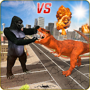 Monster Dino Vs King Kong-City Rampage Simulator 1.0.5