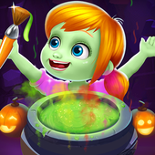Halloween coloring book : Witches and Pumpkins 1.0.2