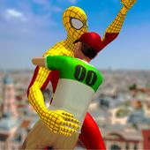 Flying Spider Hero vs Monster - Final City Battle 1.0