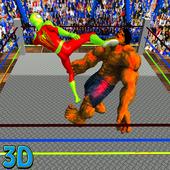 Monster Hero vs Superheroes Ring Battle 1.0