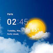 Transparent clock & weather 1.96.51