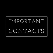 Important Contacts 1.5.0