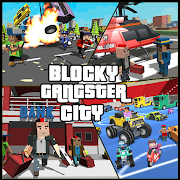 Blocky Dude Theft Crime Wars - Gangster Auto City 1.1.2