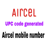 Aircel UPC code  generator aircel mobile number 2.0