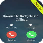 dwayne johnson fake call prank 1.1