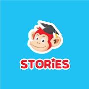 Monkey Stories: books, reading games for kids 2.4.6