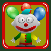 Circus Clown catches smileys 1.1