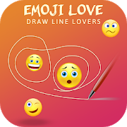 Emoji Love Draw Lines Lovers 1.0.0