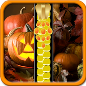 Halloween Zipper Lock Screen 1.5