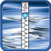 Water Zipper Lock Screen 1.5