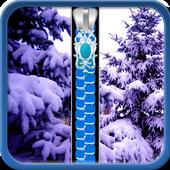 Winter Zipper Lock Screen 1.5