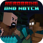 Mod Herobrine ws Notch for MCPE 1.0