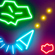 Glow Asteroids Meteor ShooterEvgeny OnyanovArcade