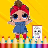 Dolls Surprise Coloring Book Lol 1.0