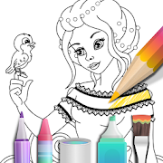 Princess coloring book 3.0.1