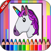Unicorn Coloring Easy 1.0