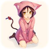 Cute Nekomimi Girl Anime Live Wallpaper 1.0