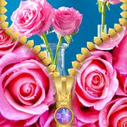 Pink Rose Zipper Lock Screen 1.7