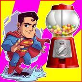 Vending Machine Egg SuperHero Kid 0.5