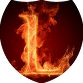 Fiery letter L Live Wallpaper 1.1.1