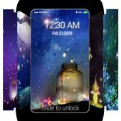 Fireflies Wallpaper QHD Lockscreen
