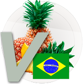 Portuguese vocabulary - fruits 1.0