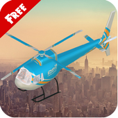 3D Helicopter Game Adventure 1.2