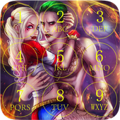 Joker and Harley Lock Screen 1.0