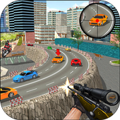 Sniper Highway Traffic Shooter 3D 1.1