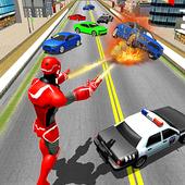 Flying Superhero Robot Rescue 3D 1.0