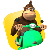 Monkey MOTO Racing 3D