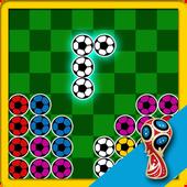 Puzzle Block Tetrominoes - WorldCup 2018