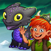 Idle Dragon Empire: tap vikings, train dragons