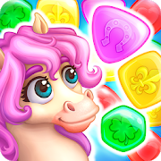 Match3 Magic: Prince unicorn lovely story quest 1.02