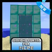 Diamond Portal Mod for MCPE 1.1