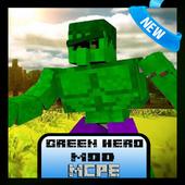 Green Hero Mod for MCPE 1.1