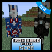 Mod New Iron Hero for MCPE 1.1