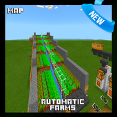 Automatic Farms Map for MCPE 1.1