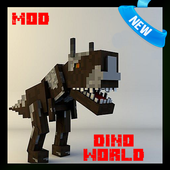 Dino World Mod for MCPE 1.1