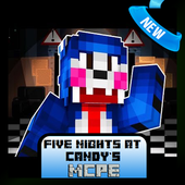 Five Nights at Candys Map MCPE 1.1
