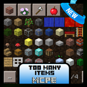 Too Many Tool Mod for MCPE 1.1