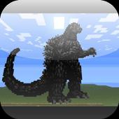 Mod Godzilla for MCPE 1.0