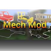 Full Mech Mod for MCPE 1.0