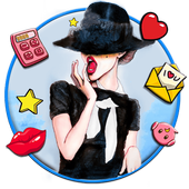 Fashion Girl Launcher Theme Live HD Wallpapers 1.0