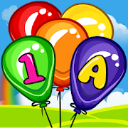 Balloon Pop Kids Learning Game Free for babies 🎈 9