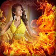 Fire Photo Frames - Fire Effect Photo Editor 8.0