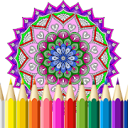 87+ Mandala Coloring Book For Adults Apk HD