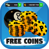Free 8ball pool coins 1.1