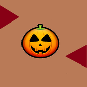 Halloween Pumpkin Wall Jump